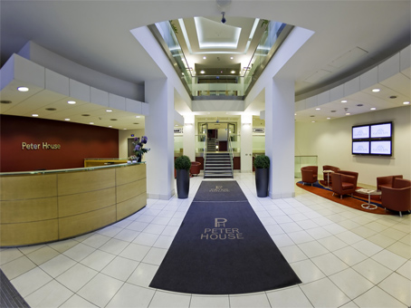 Clear Building Management, Our head office and Adminstration Centre. Peter House Manchester